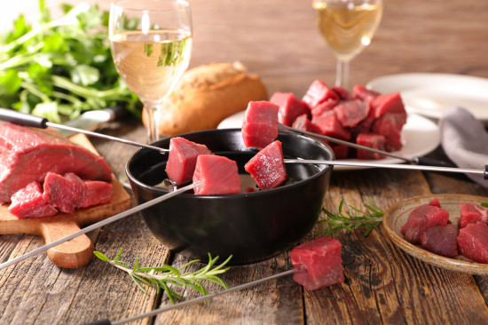 Boeuf pour fondue