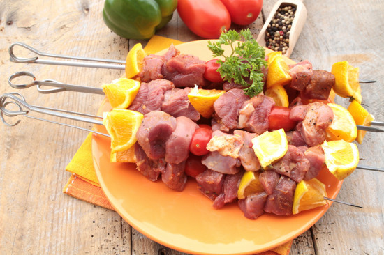 brochette de porc (filet mignon)